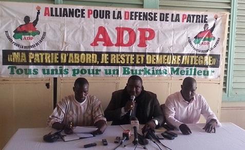 Abraham Badolo, président de l'ADP: «Le capitaine qui tient le gouvernail Burkina Faso est en manque de solutions idoines»