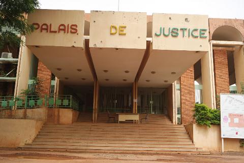Palais de justice du Burkina: Les activités reprennent ce lundi 19 juin 2017, sauf à Manga