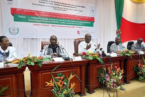 Dialogue Etat/OSC: «Le travail de construction d'une nation est une œuvre de longue haleine», amorti le président du Faso, Roch Kaboré