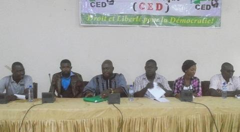 Situation nationale: Le CED demande la suppression de la Haute Cour de Justice et de la Justice militaire