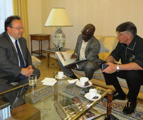 Rencontre avec la communauté burkinabè: Alain Françis Gustave Ilboudo à Belfort et Strasbourg