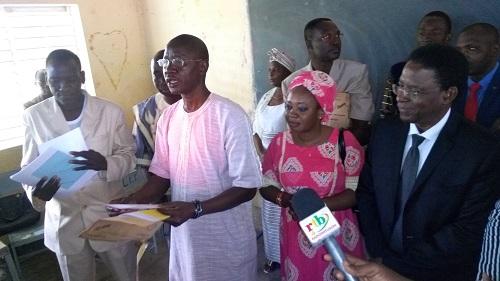 Baccalauréat 2017: Le ministre Alkassoum Maiga a donné le top de départ à Koupéla