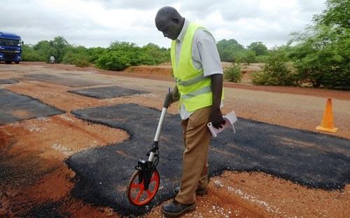 Route Koupéla-Fada: Des travaux d'urgence en exécution pour soulager les usagers