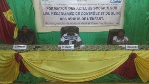 Protection des droits de l'enfant: La COBUFADE outille des acteurs sociaux régionaux à Bobo-Dioulasso