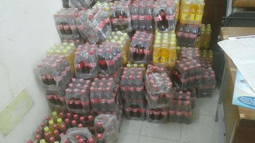 Bobo-Dioulasso: 1409 bouteilles de boissons périmées saisies au grand marché