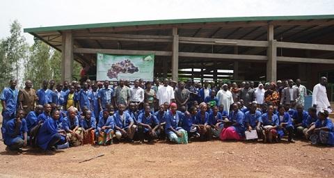 Projet aurifère de Bomboré: 89 jeunes prêts à s'auto-employer
