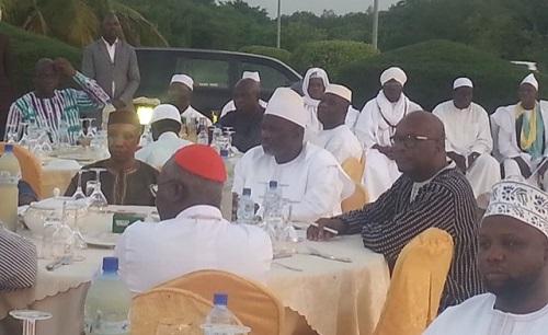 Ramadan 2017: Le Président du Faso participe à une rupture collective de jeûne