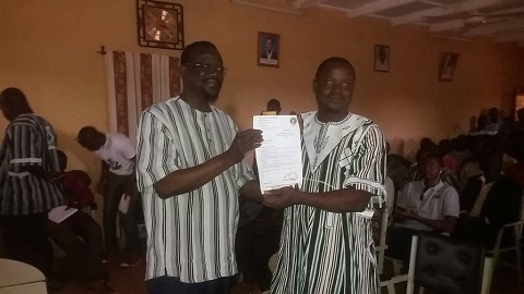 Union pour la renaissance/Parti sankariste: Sampawendé Ouedraogo, nouveau Coordonnateur du Centre-Nord