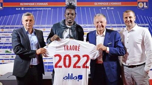 Football: L'Olympique Lyonnais s'offre Bertrand Traoré pour près de 7 milliards CFA