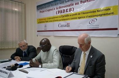 Coopération bilatérale Canada-Burkina: La mise en œuvre du Projet d'appui à la démocratie jugée satisfaisante