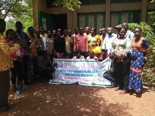 ALERT Migration-Afrique: Une quarantaine d'acteurs formés sur les droits des personnes migrantes