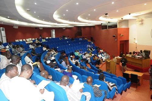 Orientation budgétaire 2018-2020: Rosine Coulibaly était face aux députés
