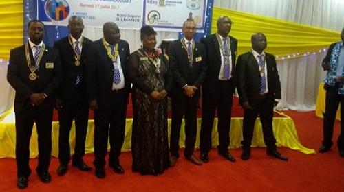 Clubs service de Ouagadougou:  Les Rotariens ont de nouveaux présidents