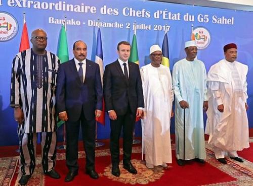 G5 Sahel: Les chefs d'Etat et la Haute Représentante de l'UE à l'unisson