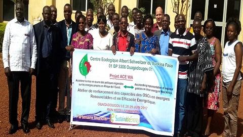 Accès aux énergies renouvelables au Burkina: Les OSC renforcent leurs capacités pour les plaidoyers