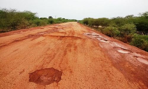 Koupéla-Fada N'Gourma: Les 80 km de calvaire et de colmatage!