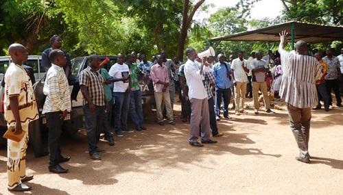 Ministère des infrastructures: Le syndicat veut des solutions
