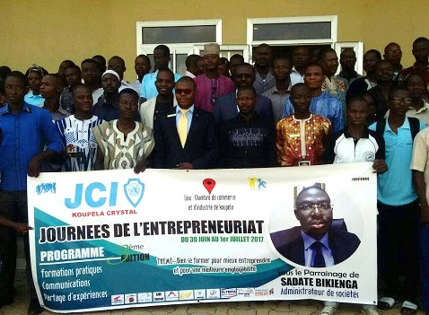 Journées de l'entreprenariat à Koupéla: Pour que les jeunes burkinabè se prennent en mains