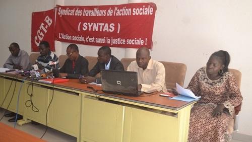 Ministère de la solidarité nationale et de la famille: Le syndicat entend élever le niveau de la protestation