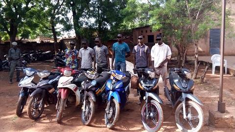 Bobo-Dioulasso: Un réseau de voleurs de motos démantelé