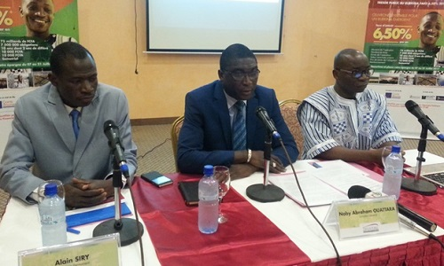 Appel public à l'épargne: Le Burkina recherche 75 milliards de francs CFA sur le marché obligataire