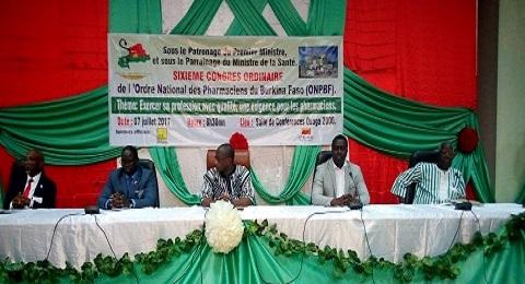 Ordre national des pharmaciens du Burkina Faso: La qualité de la profession au cœur du 6e congrès