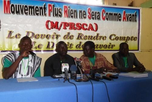 Exclusion d'Idrissa Noogo du MPRSCA:'' On n'avait pas d'autre choix''