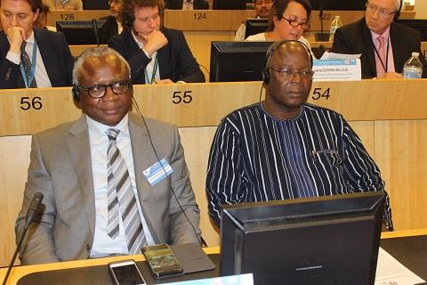 5è Assises de la coopération décentralisée à Bruxelles: Le Burkina Faso expose son expérience