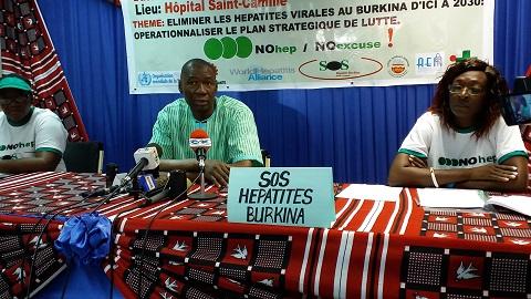 Journée mondiale contre l'hépatite: L'association SOS Hépatites Burkina appelle à l'opérationnalisation du plan stratégique de lutte