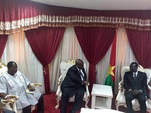 Décès de Salifou Diallo: Le comité interparlementaire de l'UEMOA présente ses condoléances au parlement burkinabè