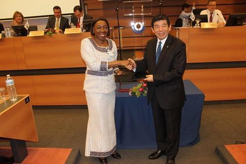 Organisation mondiale des douanes: Le Burkina remet ses instruments d'adhésion à la Convention de Kyoto «révisée»