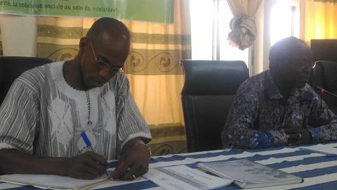Ministère de l'Action sociale du Burkina: La 30ème promotion de l'ENSS s'approprie le PNDES