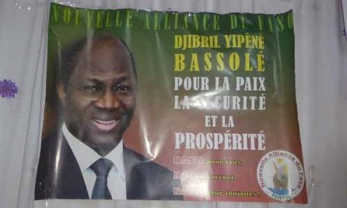 Détention de Djibrill Bassole: La NAFA plaide pour sa libération