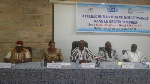 Gouvernance dans le secteur minier du Burkina Faso: Le CGD outille des acteurs à Bobo-Dioulasso