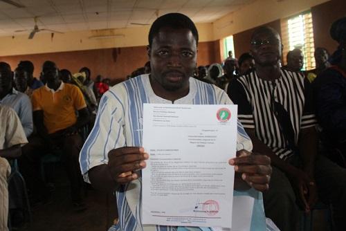 UNIR/PS au Plateau central: Adama Sawadogo dit Sarco est le nouveau coordonnateur régional