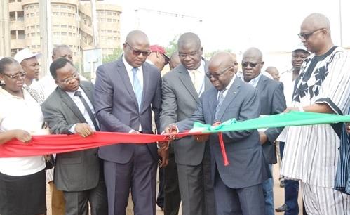 Hôpital de district de l'ex-secteur 30: Les voies d'accès ont été inaugurées