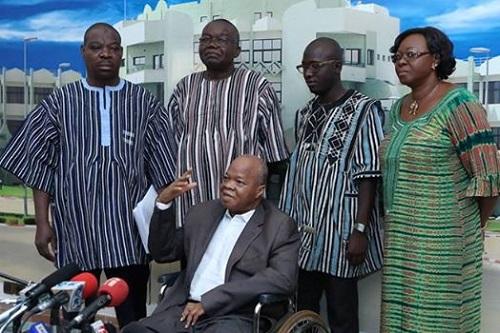 Avant-projet de Constitution: Le président du Faso reçoit une copie pour les amendements