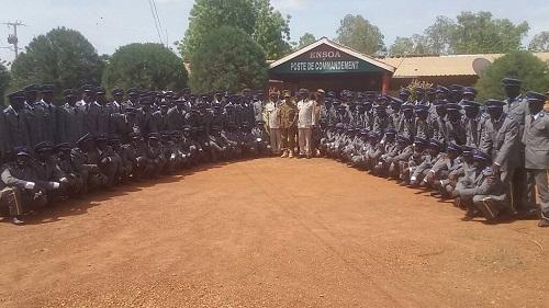 Forces armées nationales burkinabè: 98 Sergents de l'ENSOA intègrent la chaine de commandement