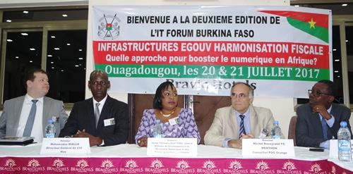 Digitalisation en Afrique: Ouagadougou abrite la 2e édition de l'IT Forum