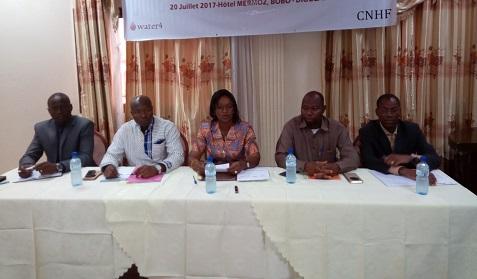 Eau, Hygiène et Assainissement dans le Grand Ouest du Burkina Faso: Les membres du comité technique de suivi des projets ont fait leur bilan à mi-parcours à Bobo