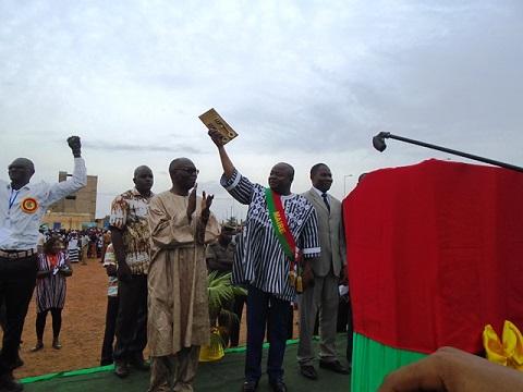 Arrondissement N°4 de Ouagadougou: «Il nous faut être plus civiques, avoir un esprit citoyen et républicain», invite le maire, Issa Anatole Bonkoungou