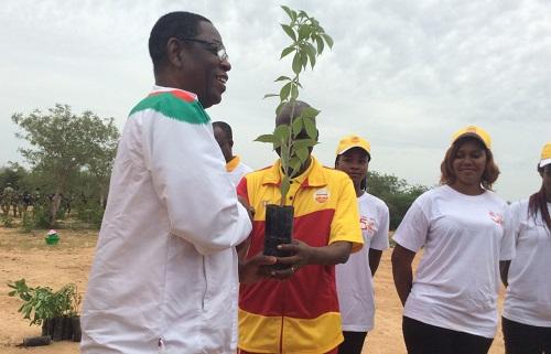 Forêt classée de Gonsé: La Loterie nationale  burkinabè officialise son partenariat avec le ministère de l'environnement