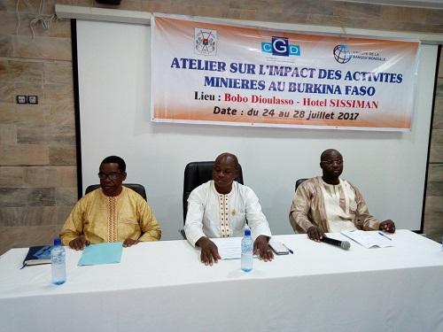 Activités minières au Burkina Faso: Le CGD outille les parlementaires et élus locaux à Bobo-Dioulasso