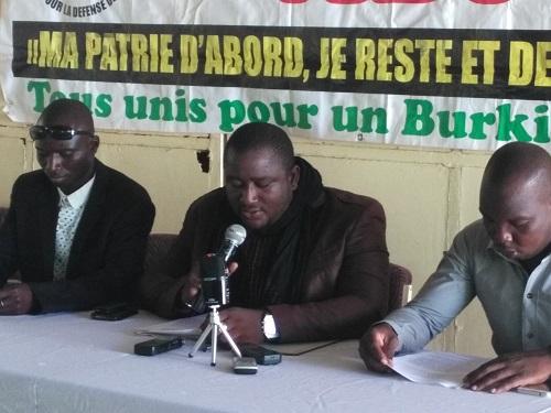 Situation nationale: L'ADP dénonce la manipulation politique de certaines OSC
