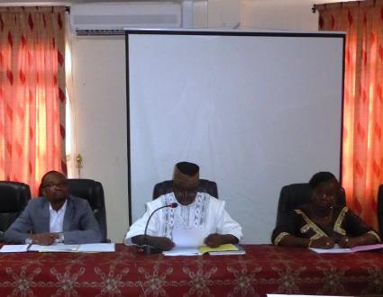 Gestion des ressources en eau: Le Comité local de l'eau Nazinon amont  a pris fonction