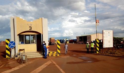 Bobo-Dioulasso: Le Premier ministre Paul Kaba Thiéba soutient le projet d'extension du port sec