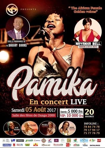 Concert: Fête d'indépendance en live avec Pamika