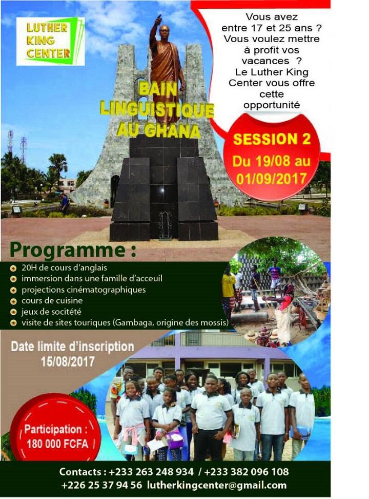 Camp vacances linguistique session 2