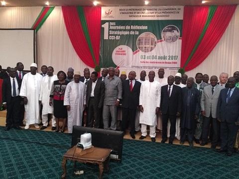 Chambre de commerce du Burkina: Les premières journées de réflexion pour mieux faire connaitre l'institution