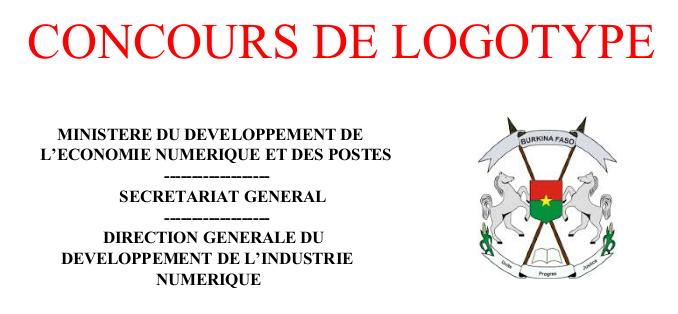 La Direction Générale du Développement de l'Industrie Numérique (DGDI) du Ministère du Développement de l'Economie Numérique et des Postes (MDENP) lance un concours pour la conception de logos au profit des structures du MDENP